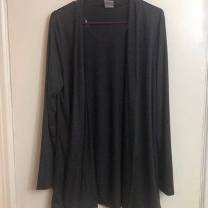 Women's Rags & Couture Gray Cardigan Size XL